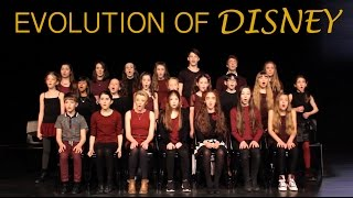 EVOLUTION OF DISNEY - Amazing Young Singers