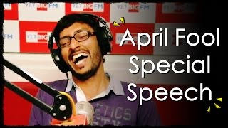 R.J. பாலாஜி - April Fool Special Speech - Balaji