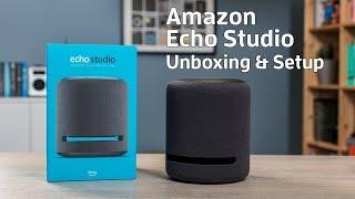 Amazon Echo Studio unboxing & setup