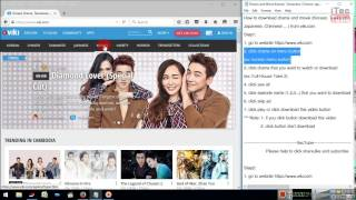 How to download Drama (Korean, Taiwanese, Chinese, Japanese) from viki.com