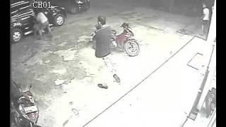 CCTV BAKU TEMBAK MUARA ENIM, TENTARA VS POLISI