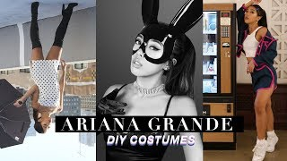 Simple DIY Ariana Grande Costumes & Outfits! | CELEBRITY INSPIRED TUTORIALS | Nava Rose