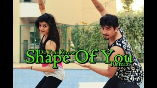 ZUMBA & BHANGRA | Shape Of You - Ed Sheeran | Do You Know - Diljit | Dimple | Choreo By Piyush Sm