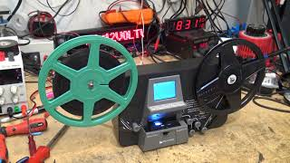 Wolverine Film Scanner evaulation and quality check