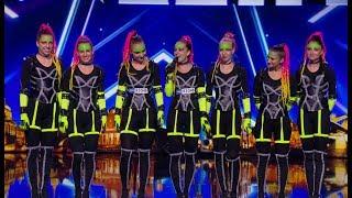 ČESKO SLOVENSKO MÁ TALENT 2018 - Tron Girls