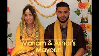 mariam & ashar's mayoun!