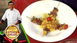 Sanjeev Kapoor Ke Kitchen Khiladi - Episode 27 - Garadu Tikka with Bhutta Kees