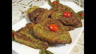 کوکوی کدو سبز Zucchini Frittata   Kookoo kadoo sabz