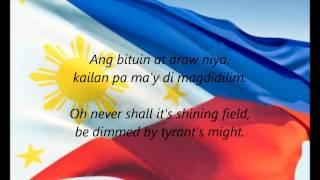 Philippine National Anthem -