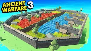 BIGGEST CASTLE EVER IN ANCIENT WARFARE 3 (Ancient Warfare 3 Funny Gameplay)