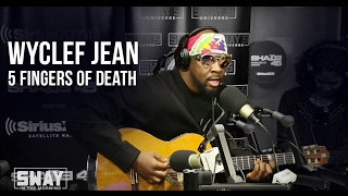 Wyclef Kills the 5 Fingers of Death on Sway in the Morning