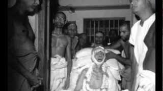 Last Photos of Sri Ramana Maharshi