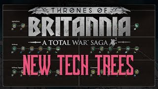 Big Changes to Tech Trees in Thrones of Britannia