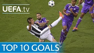 UEFA Champions League 2016/17 - Top 10 goals
