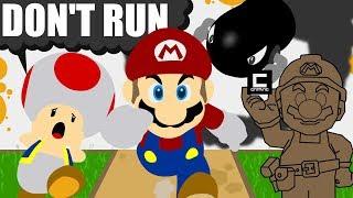 """""""Don't hit the Run Button"""" in Super Mario Maker!"""