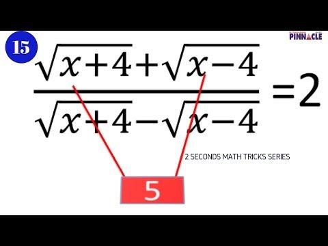 Best tricks for math I ssc cgl math I algebra I 2 seconds trick series