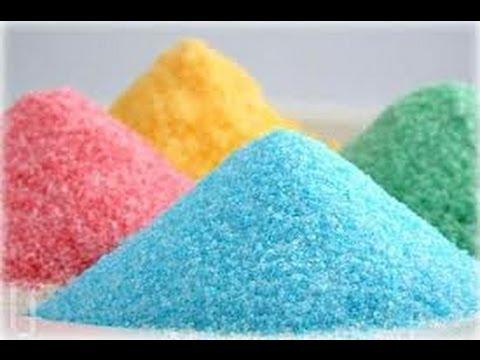 ★ Crea en casa azúcar de colores ★ FACIL Y RAPIDO