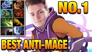 MIRACLE - THE BEST ANTI-MAGE In The World -  Dota 2 7.05