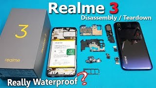 Realme 3 Disassembly - Realme 3 Teardown || How to Open Realme 3 - All internal Parts of Realme 3