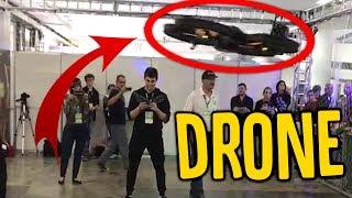EU PILOTEI O DRONE MAIS LEGAL DE TODOS !!! [ REZENDE EVIL ]