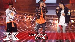 5 After Midnight kick off the Live Shows! | Live Shows Week 1 | The X Factor UK 2016