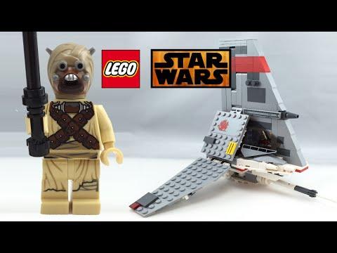 LEGO Star Wars 2015 T 16 Skyhopper review 75081