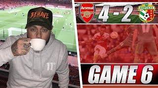 Arsenal 4 v 2 FC Vorskla - We Got Sloppy When Torreira Came Off - Matchday Vlog