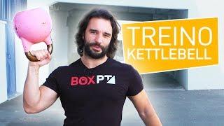 Treino Hardcore de Kettlebell! (inclui aquecimento)