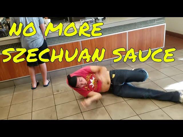 RICK AND MORTY MCDONALD'S SZECHUAN SAUCE FREAKOUT!!!! (ORIGINAL VIDEO)