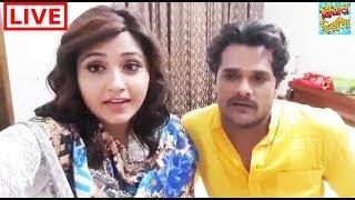 Khesari Lal Yadav और Kajal Raghwani ने किसे कहा Thanks ?  | Bindaas Bhojpuriya