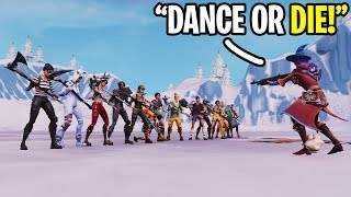 """Playing """"SIMON SAYS"""" in Fortnite CREATIVE Mode!!!"""