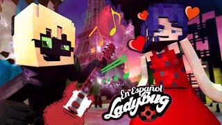 Cat Noir Le Canta a Ladybug 🎤 Mi Bichito ❤️ Cap 3 ❤️ Minecraft Miraculous Ladybug en Español