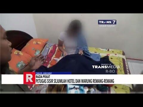 Petugas Sisir Sejumlah Hotel dan Warung Remang-Remang