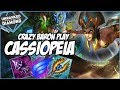 Download Video Download CRAZY BARON PLAY ON CASSIOPEIA - Unranked to Diamond - Ep. 12 | League of Legends 3GP MP4 FLV