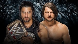 WWE: Roman Reigns vs AJ Styles | Payback 2016 | OFFICIAL PROMO