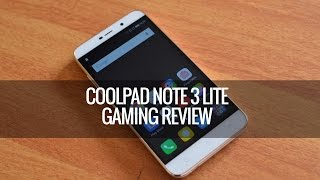 Coolpad Note 3 Lite Gaming Review (with Heating)