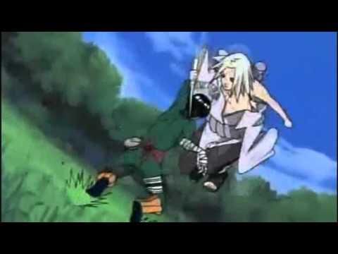 Kampf um Sasuke Naruto Lee Gaara vs Kimimaro