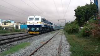 First on YouTube!! Secunderabad - Vijayawada LHB ICE