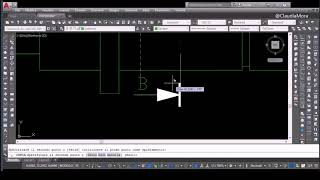 AutoCad Speed Drawing - Simple shaft (2D/3D)