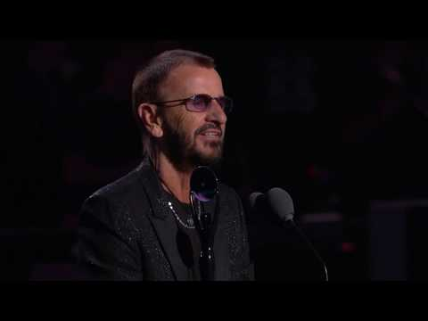 Ringo Starr Acceptance Speech at the 2015 Rock & Roll Hall of Fame Induction Ceremony