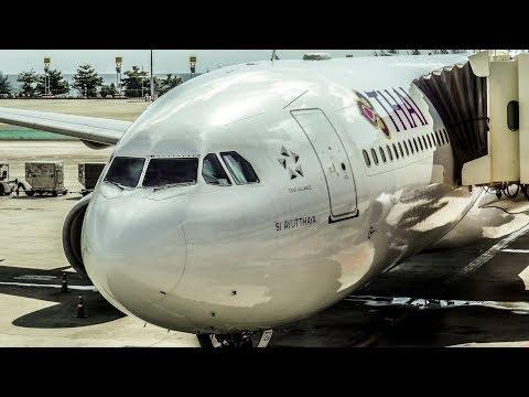 Xxx Mp4 THAI AIRWAYS FLIGHT REVIEW Airbus A330 300 Bangkok BKK Phuket HKT 3gp Sex