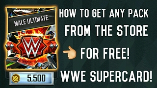HOW TO GET FREE CREDITS, FREE CARD PACKS, FREE ANYTHING WITHIN WWE SUPERCARD OR ON THE PLAY STORE!