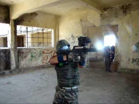NEMxis Paintball en el Cuartel abandonado