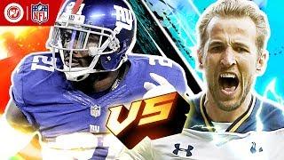 Harry Kane vs. Landon Collins   Tottenham Hotspur & New York Giants