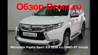 Mitsubishi Pajero Sport 2018 3.0 (209 л.с.) 4WD AT Instyle - видеообзор