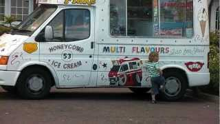 Cute Kid Steals Ice-Cream Truck