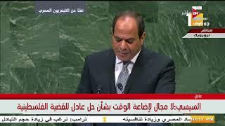 الرئيس السيسي: يجب العمل على الحد من التدفقات المالية غير الشرعية من الدول النامية