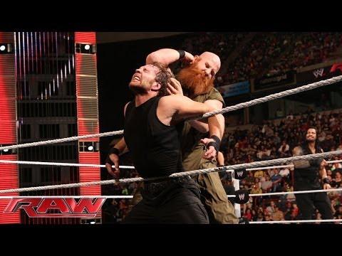 The Shield vs. The Wyatt Family: Raw, May 5, 2014