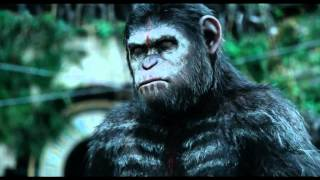 "Best Scene in ""Dawn of the planet apes"""