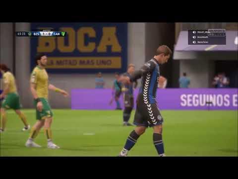 FIFA 18 PRO CLUBS - FC Brazzers x EC Canarinho - 5ª Rodada - CBPRO - VPSL